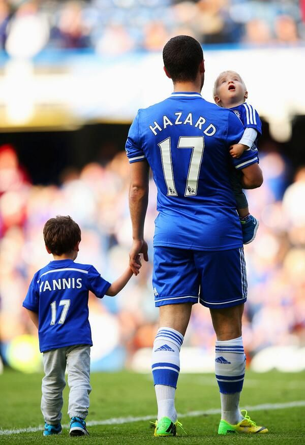 Eden Hazard's family. :')))) #CFC
