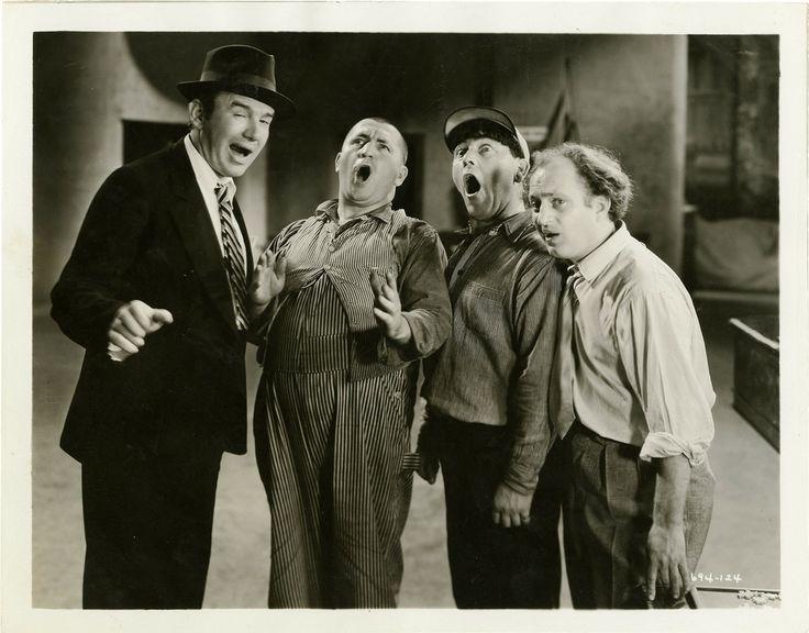 The Three Stooges http://retrovortex.com/vintage-three-stooges/
