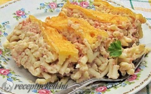 Pastitsio (görög rakott tészta) recept fotóval