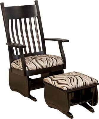 ... Glider Rocker  Customizable Glider Chair  Furniture Ideas