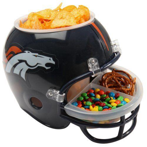 Denver Broncos - Logo Snack Helmet . $49.95. 100% Customer Satisfaction…