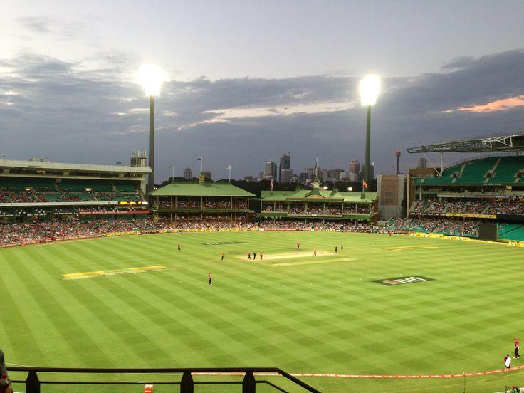 """Sydney Cricket Ground Paper Poster (24""""x36"""")"""