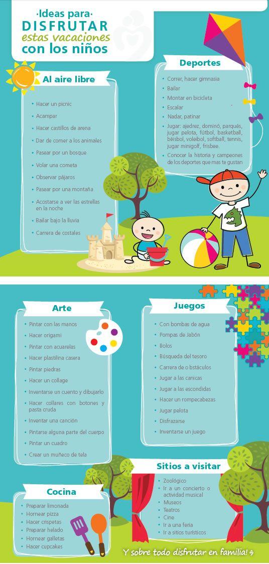 Descubre Ideas para celebrar estas vacaciones con tus hijos: Juegos Cocina Sitios a visitar en Medellín Al Aire Libre