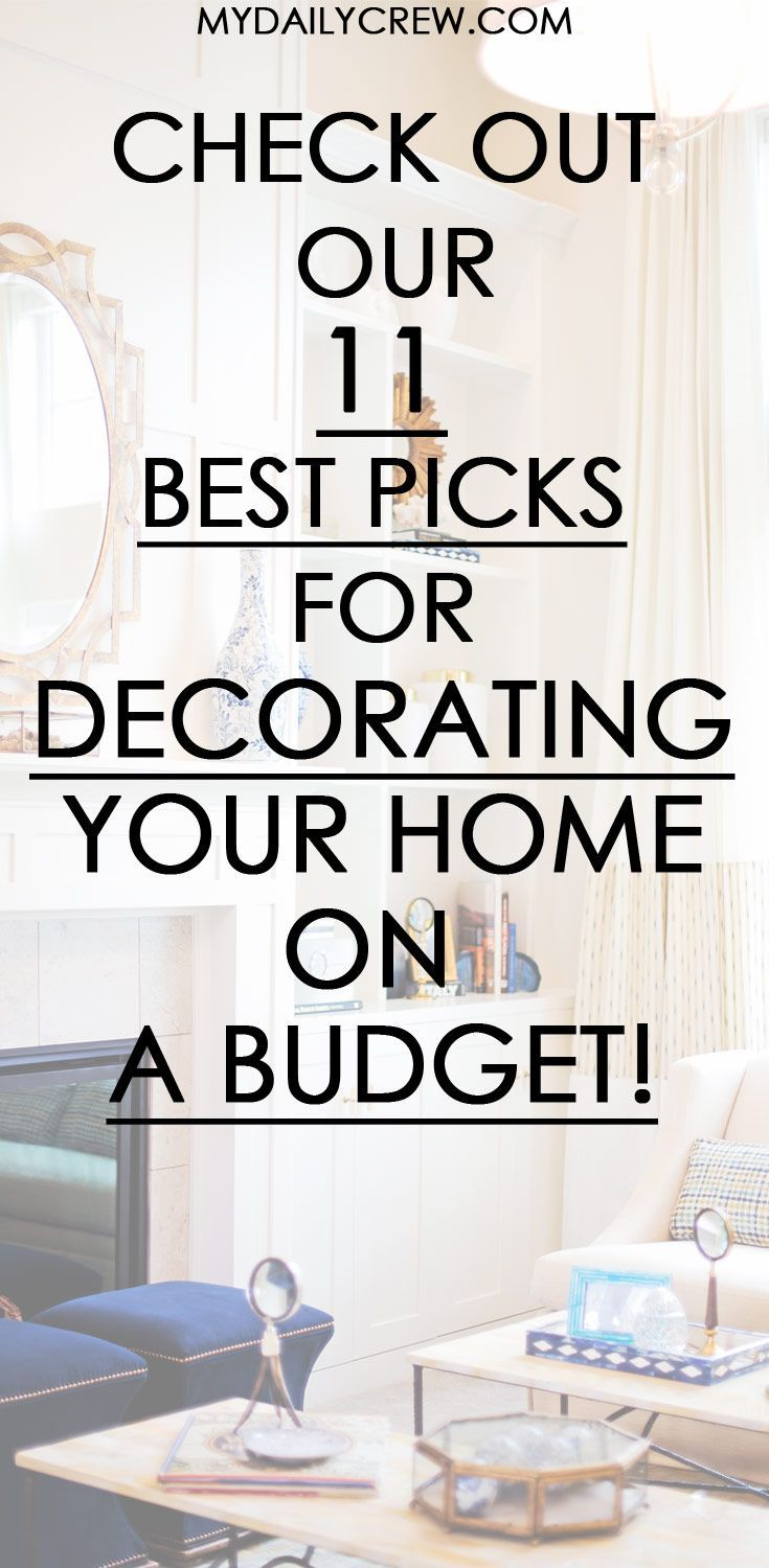 11 Budget Décor Ideas To Make Your Home Look Amazing   POST YOUR ...