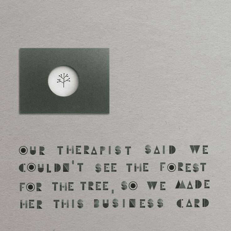 Psychologist Business Card | zazdesign graphic lab