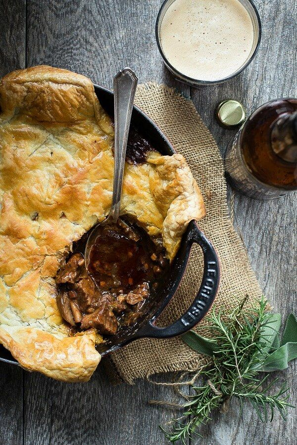 The best Steak Ale Pie I have ever tasted. This recipe was one that my mom would make every Sunday and I could smell it cooking all day long!
