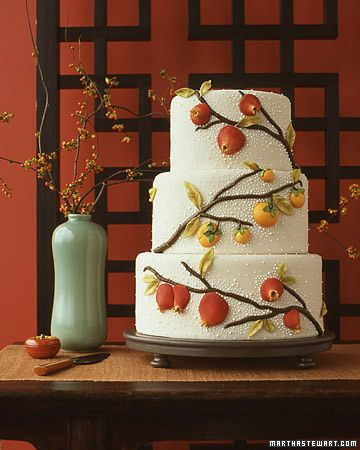 Fruit Wedding Cake: Fruit Decor, Asian Ceramics, Modern Wedding Cakes, Asian Cakes, Fruit Cakes, Wedding Design, Wedding Cakes Design, Martha Stewart Wedding, Ceramics Inspiration