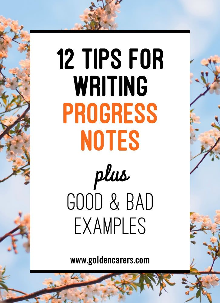 writing progress notes The progress notes prepared by a physician are generally focused on the therapeutic or medical aspects of the patient's care and condition here the patient progress.