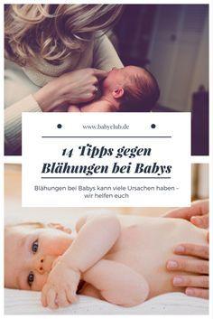 Erste Hilfe bei Blähungen bei Babys!