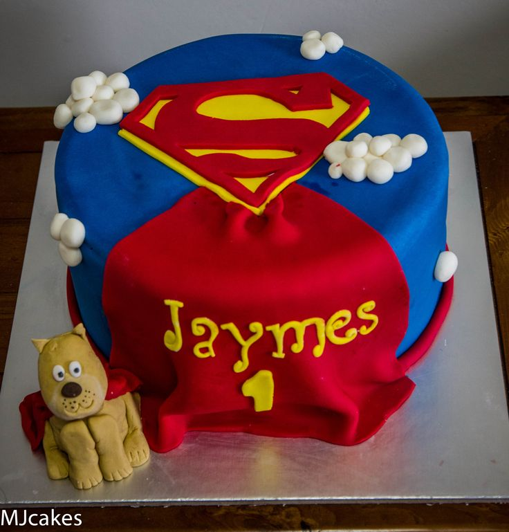 11 best images about superman cakes on pinterest man of for Superman template for cake