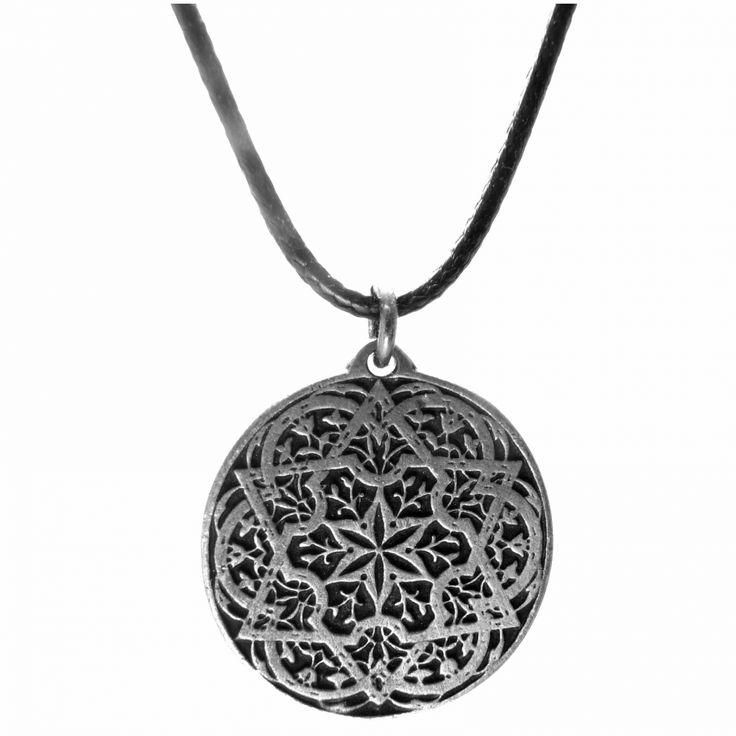 Amulet ornamentální hvězdice