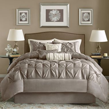 jcpenney king size bedding 7 pc comforter set jcpenney for the home 15671