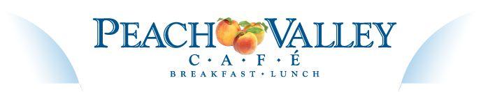 Peach Valley Cafe...yum
