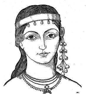 Temple rings, and female headdress of the Eastern Slavs in Rus' (Part I)  http://members.ozemail.com.au/~chrisandpeter/trmain/tr1main.html