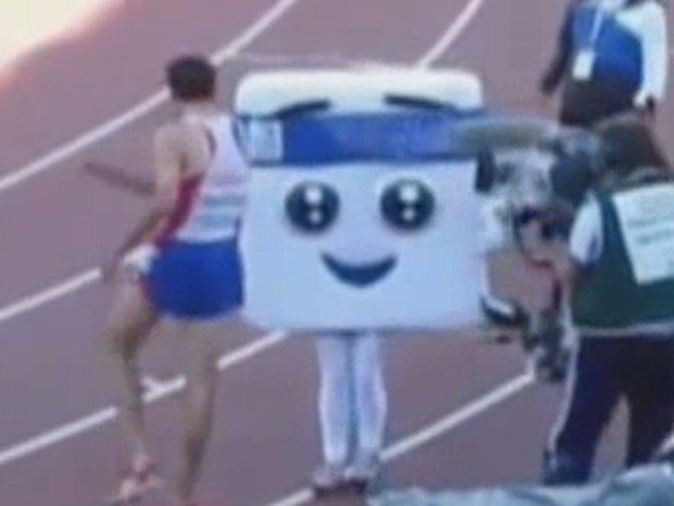 French Runner Shoves 14-Year Old Girl At Olympic Meet, Vid Goes Viral
