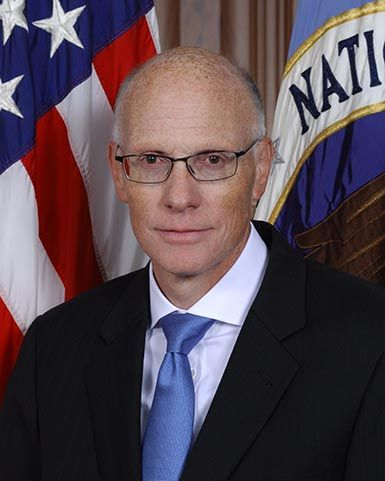 Portrait of George C. Barnes, Deputy Director, National Security Agency Chief, Central Security Service