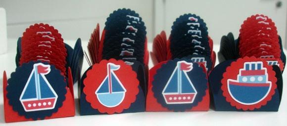 Kit para sua festa Navy forminhas - R$ 0,79 cada toppers - R$ 0,79 cada colherzinhas - R$ 0,30 cada favor fazer o pedido da colherzinha separado Para outros temas favor consultar R$0,79