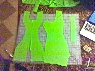 Ballroom dance dress sewing blog