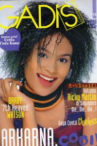 Model cover: Eunike Fedora Sinulingga (Alumni GADIS Sampul  1997). GADIS 11/1998 #GADIS40TH