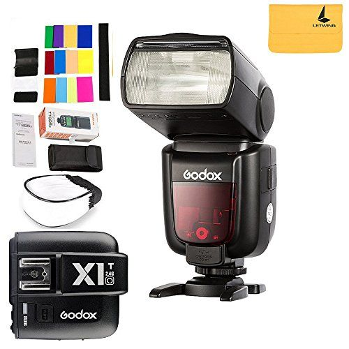 GODOX TT685O Thinklite TTL Camera Flash High Speed 1/8000s GN60 for Olympus Panasonic Cameras E-TTL II Autoflash,GODOX X1T-O TTL 1/8000s HSS 32 Channels 2.4G Flash Trigger Transmitter for Olympus:   <br><b>Technical Data:<br></b>Model: TT685O <br>Guide No. (1/1 output @200mm): 60(m ISO 100); 190 (feet ISO 100) <br>Flash Coverage:20 to 200mm (14mm with wide panel) ·Auto zoom (flash coverage set automatically to match the lens focal length and image size)·Manual zoom·Swinging / tilting f...