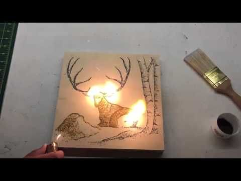 Artist 'Paints' Using Gunpowder, Finishes His Works By Setting Them On Fire By Yoon Sann Wong, 12 May 2016 Subscribe to DesignTAXI    Share on Facebook  Twitter   Enter your email address  OK   Like us on Facebook    Danny Shervin first learned about gunpowder art in college and now the Jackson Hole, Wyoming-based artist has fun lighting canvasses on fire.  Shervin spends hours putting together his designs before setting them ablaze.