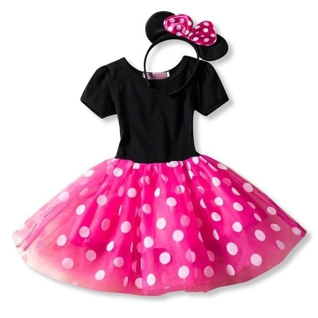 5b36c67c115be Fancy 1 Year Birthday Party Dress For Halloween Minnie Mouse Dress ...