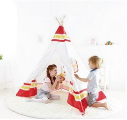 Hape Toys Red Teepee Tent $180.00 - from Well.ca