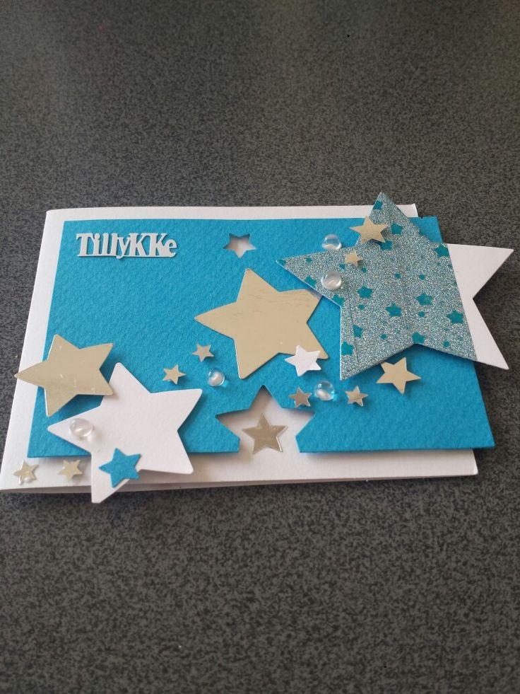 Mindre kort med stjerner.