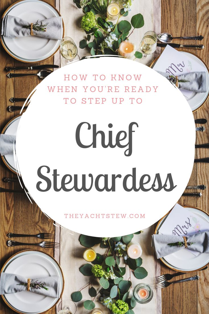 Curious about a yacht chief stewardess