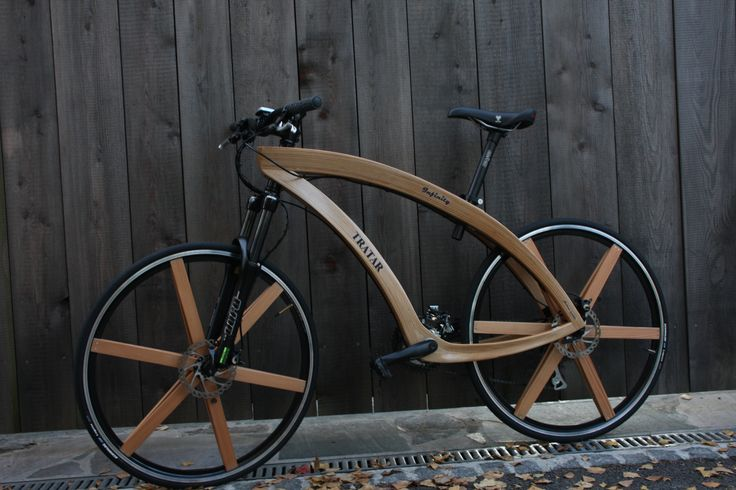 Wooden bike + wheels | Form | Pinterest
