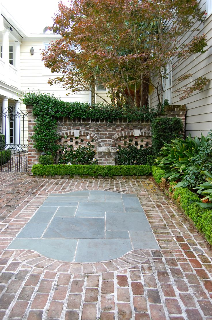 Landscaping ideas charleston sc : Charleston sc cones courtyards forward orbs and