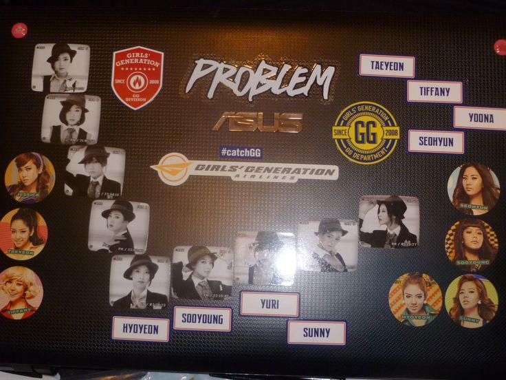 my soshi laptop XD