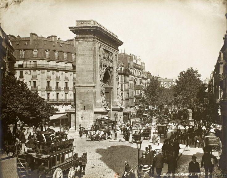 Boulevard et porte Saint-Denis