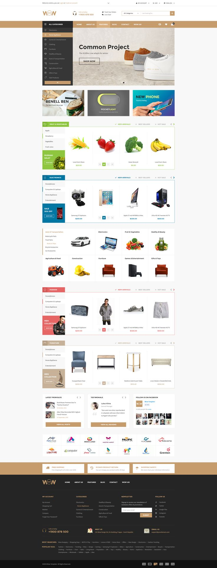 Wow - Multistore Theme Marketplace Home 02