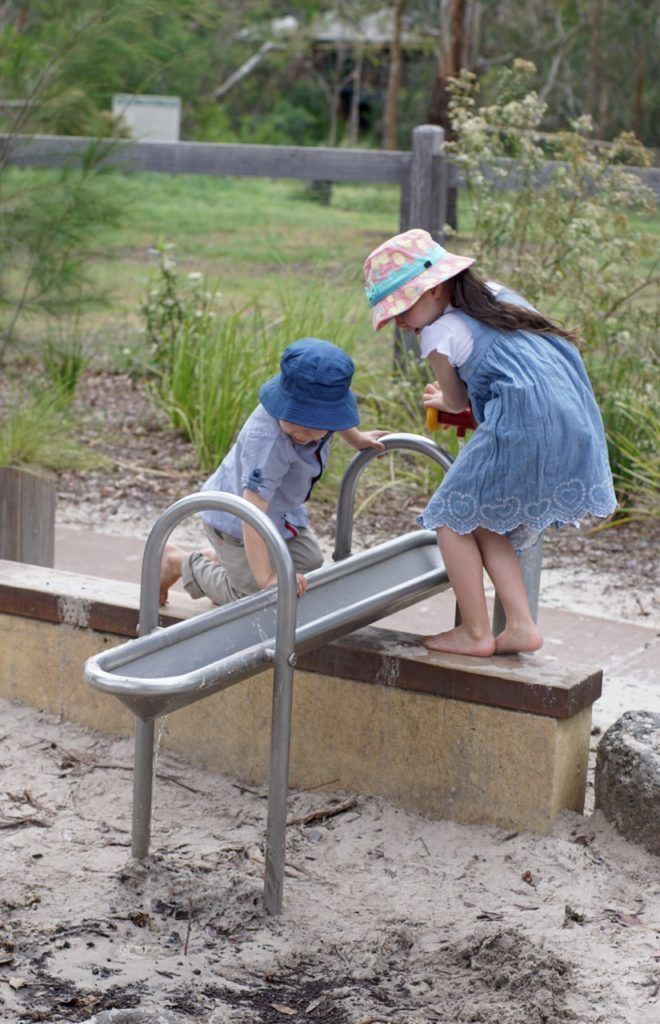 HOT: Eltham Lower Park Accessible Play Space, Diamond Valley Rail Park, Main Rd, Eltham http://tothotornot.com/2017/05/eltham-lower-park-play-space/