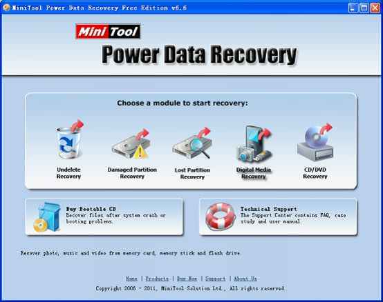 The indispensable data recovery software for digital photo recovery.