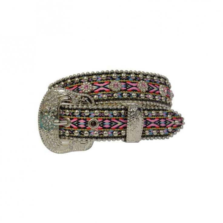 PURE WESTERN GIRLS JESSE BLING BELT  If your little cowgirl loves a bit of bling she will adore this belt!  $45.65