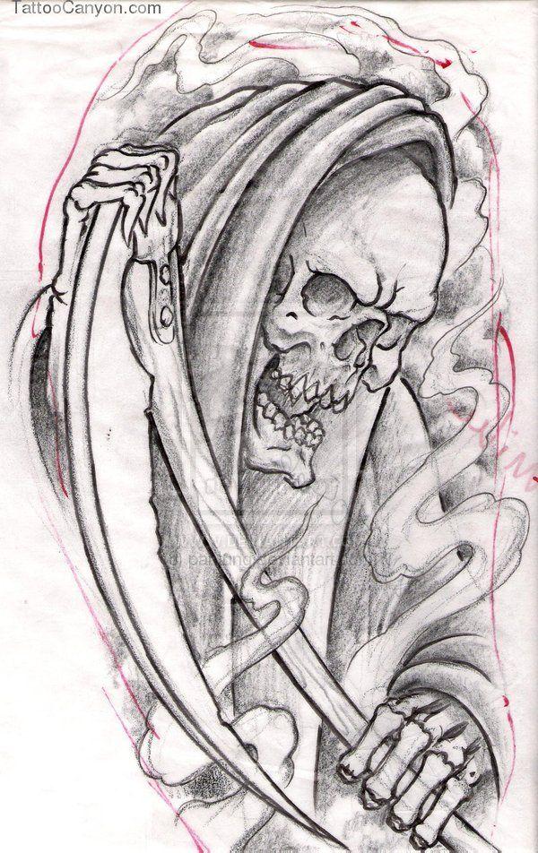 Grim Reaper 2 Tattoos picture 13446