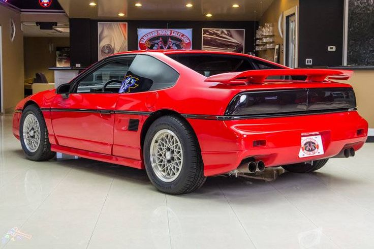 "hemmingsmotornews: ""Rotisserie restored 1988 Pontiac Fiero for sale on Hemmings.com. """