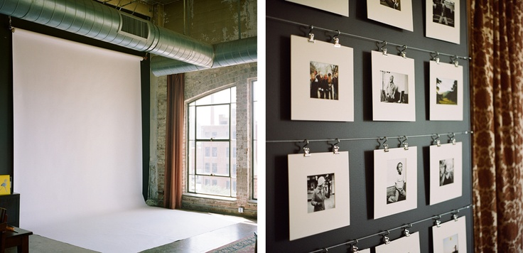rotating gallery wall....this is the perfect solution for my constant need to change things up.: Diy Photography, Photo Display, Art Photo Walls, Clip Photos Cards, Display Ideas, Hgp Photograph
