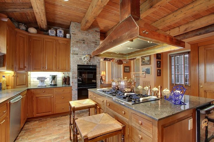 A Hays Town Cook S Kitchen Features Antique Cypress