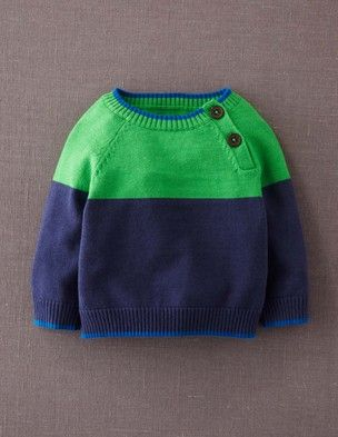 Essential Colourblock Sweater