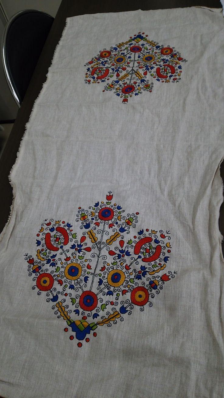 Sarkozi embroidery