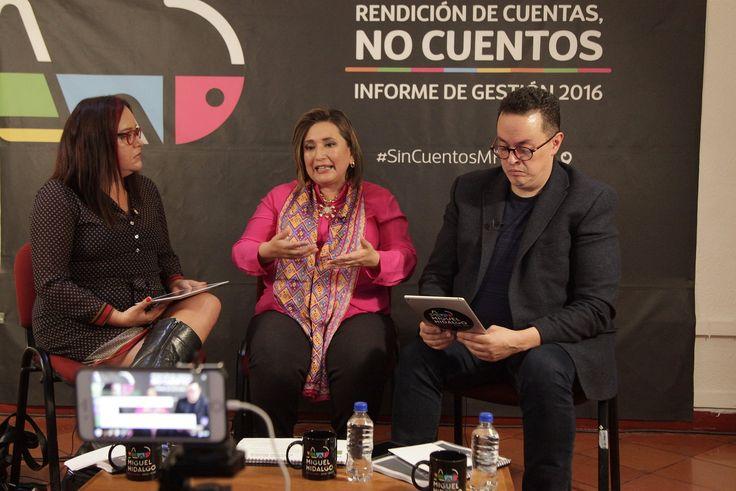 RINDE XÓCHITL GÁLVEZ INFORME DE GESTIÓN 2016