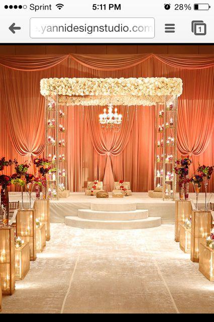 mandap receptionceremony decorations wedding wedding