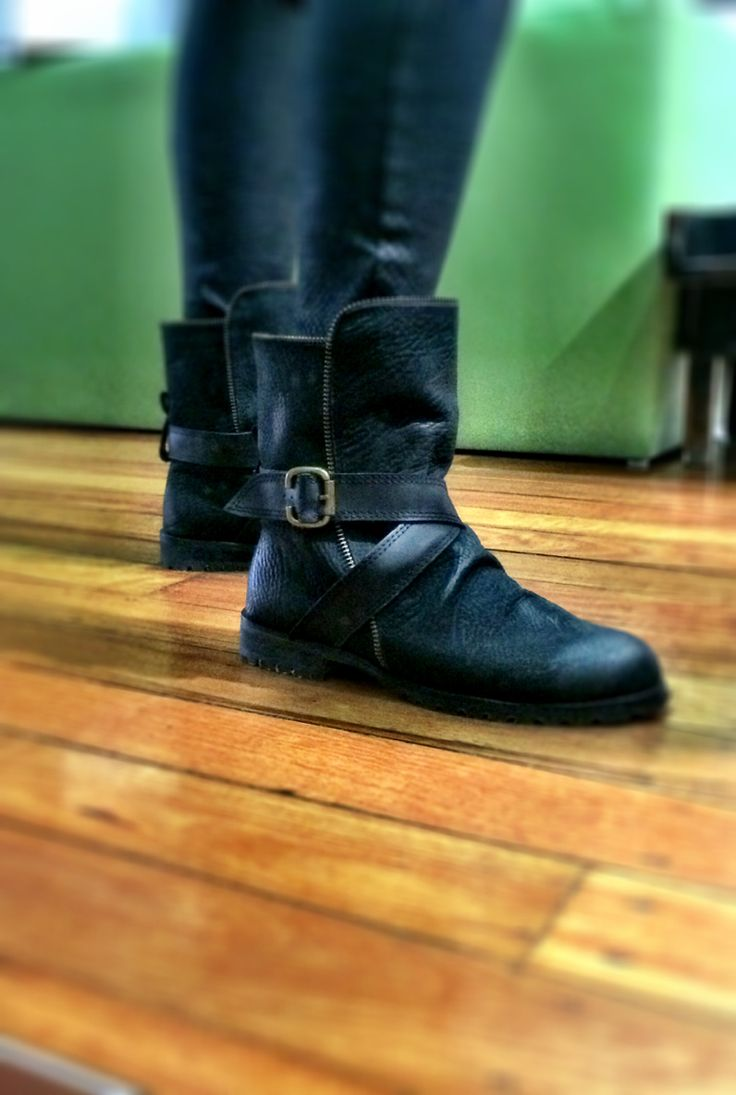 #bikerboot #black #blackleather