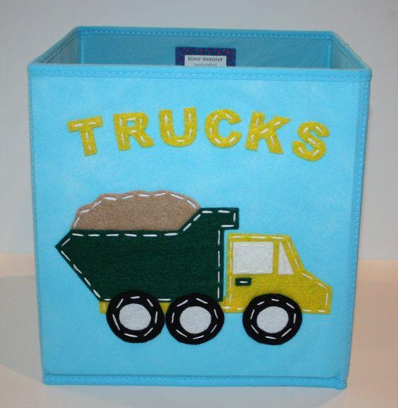 kids storage bin storage basket playroom storage blue. Black Bedroom Furniture Sets. Home Design Ideas