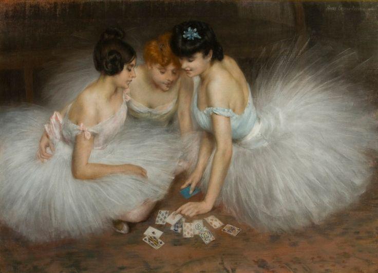 La partie de cartes, 1905 by Pierre Carrier-Belleuse (French, 1851–1932)