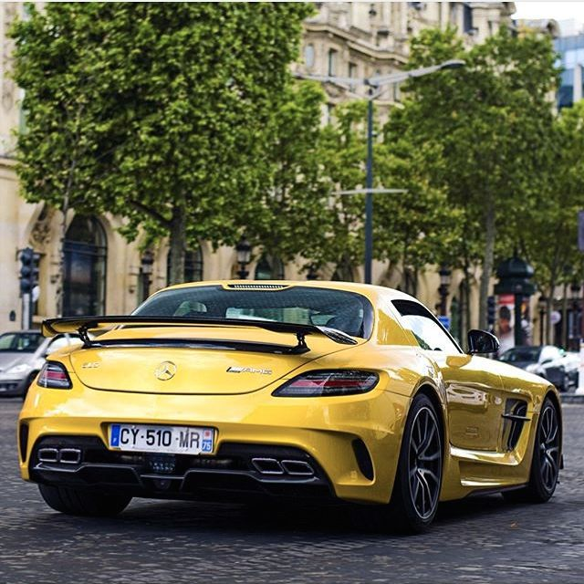 Mercedes-Benz SLS AMG Black Series (Instagram