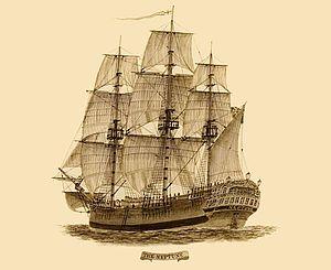 Convict ship Neptune.